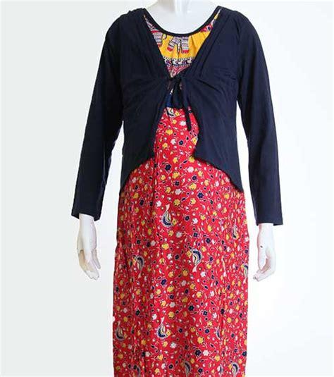 koleksi baju hamil koleksi modis model baju hamil batik gamis muslim simple