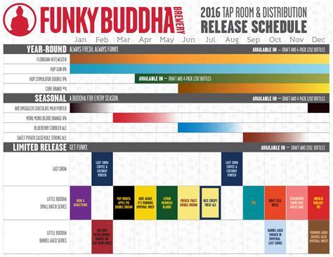 Release Calendar Updated 2016 Craft Release Calendars