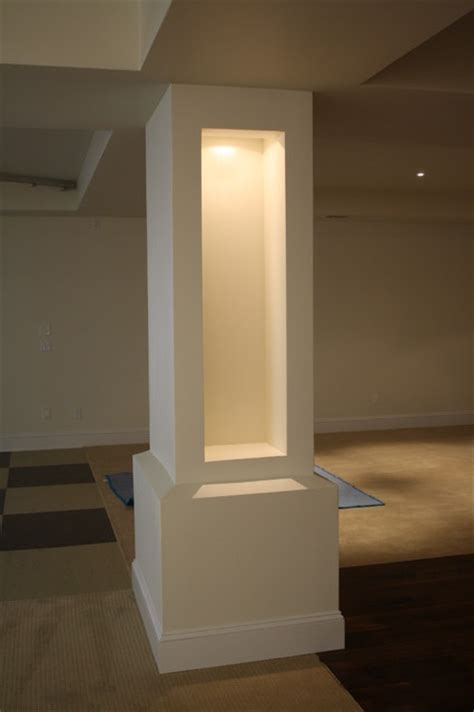 basement support posts basement column covers images frompo