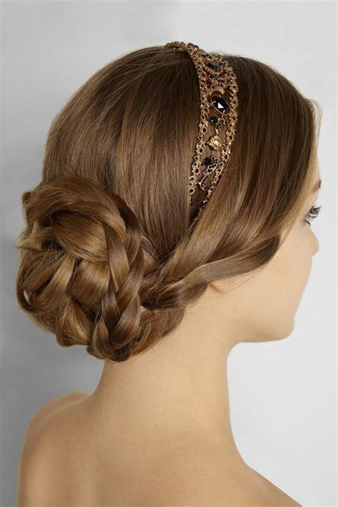 hairstyles with a headband for prom 546 best wedding hair ideas images on pinterest bridal