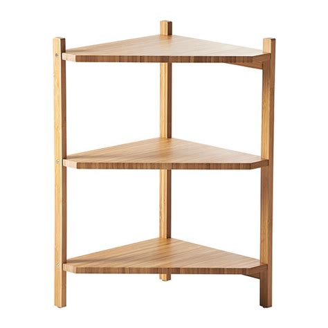 Bamboo Etagere Furniture R 197 Grund Sink Shelf Corner Shelf Ikea