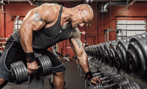 dwayne johnson the rock height dwayne johnson s height weight and body measurements