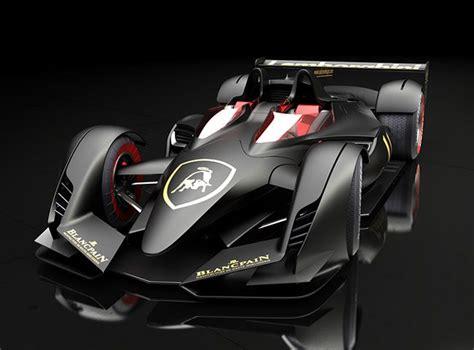 Lamborghini P Uno by Conjuring Racing Fantasy To Reality With Lamborghini Lmp F