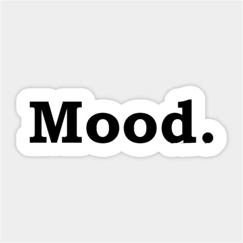Mood Stickers