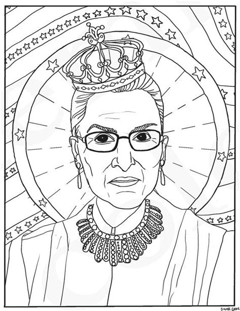 Pdf Ruth Bader Ginsburg Coloring Book by 943 Best Coloring Pages Images On