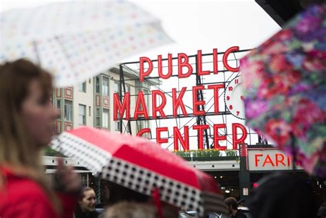 Pike Place Garage by Pike Place Market Seattle Oks 34m For More Stalls