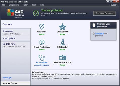 antivirus gratis xp windows test avg anti virus free edition 2012 for windows xp