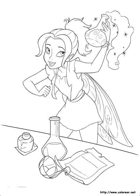 imagenes para colorear tinkerbell dibujos para colorear de tinker bell hadas y piratas