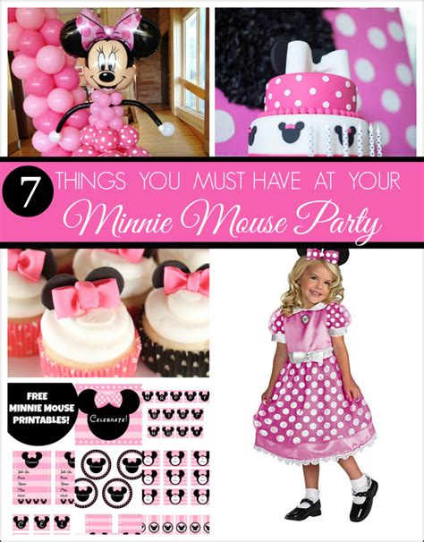 Minnie Mouse Birthday Decorations by 7 Things You Must At Your Next Minnie Mouse