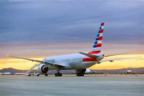 American Airlines Background Check Photos Boeing 777 300er In New American Airlines Livery