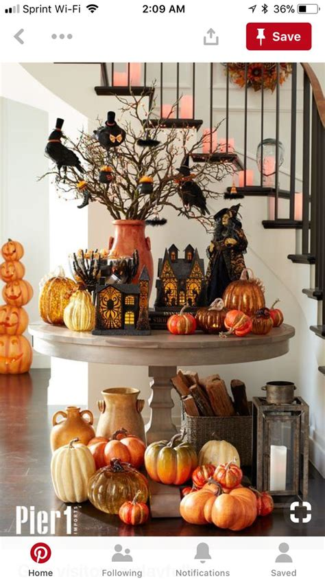 pin  kristy giordano  fall decor   spooky halloween decorations halloween