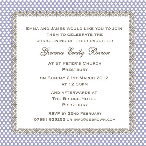 sayings for invitations cococards christening invitation wording just some ideas