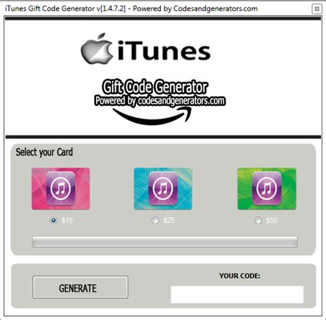 How To Download A Itunes Gift Card - itunes gift card generator free itunes gift card