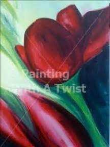 paint with a twist sugar land tulips sugar land tx painting class painting with