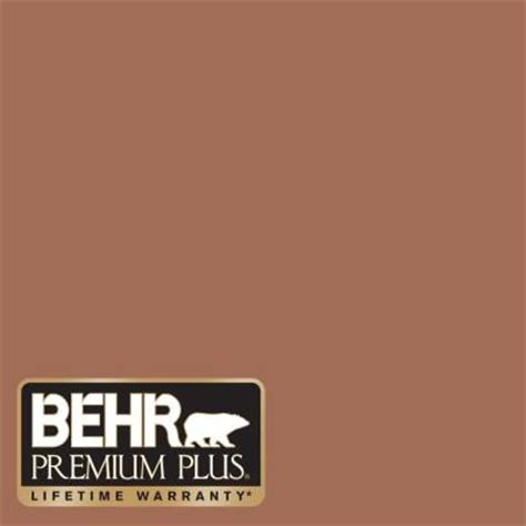 behr premium plus 8 oz 230f 6 earth tone interior exterior paint sle 230f 6pp the home depot