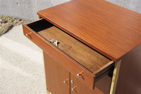 Sale Small Server 6 small mahogany server bar cabinet by paul mccobb for