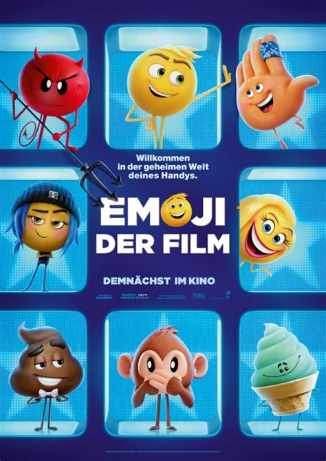 emoji film posters emoji erster trailer zur animationskom 246 die zeigt die