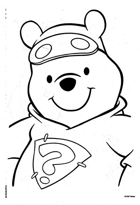 coloring page pooh bear winnie the pooh bear coloring pages az coloring pages