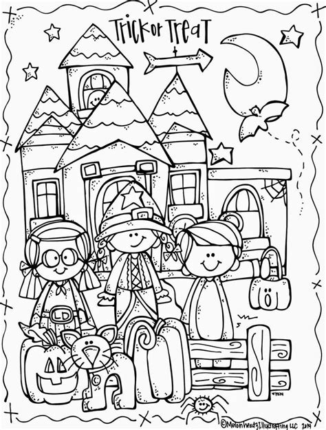 halloween coloring page first grade melonheadz illustrating lucy doris halloween coloring page
