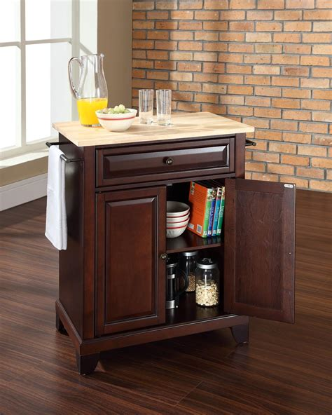 large portable kitchen island crosley newport portable kitchen island by oj commerce kf30023cbk 340 00