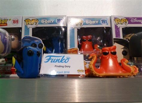 Funko Pop Disney Finding Dory Dory fair 16 finding dory pop vinyls popvinyls
