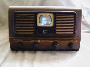 Vintage Livingroom by Pilot Model Tv 37 Quot Candid Quot Television 1948
