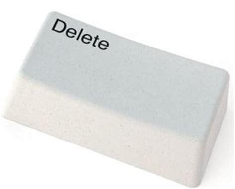 Delete Key Eraser by Delete Key Pencil Eraser Boing Boing