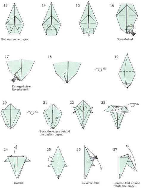 How To Make A Origami Cheetah Step By Step - 17 best images about folding paper on whales