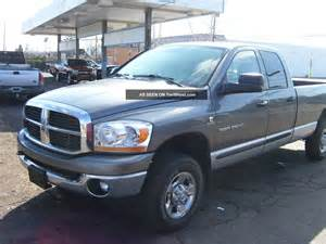 2006 dodge ram 2500 4x4 diesel 4 door