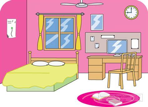 clip art bedroom home girls bedroom 2 classroom clipart