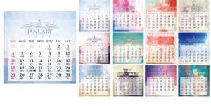 Mini Desk Calendar 2015 Template Print100 Mini Wall Calendar Content Design Style B