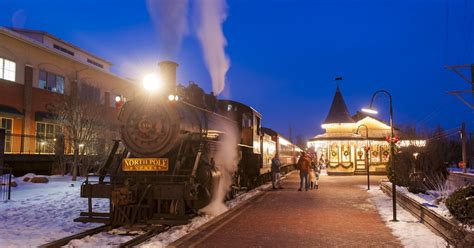 marvelous polar express train rides holidays