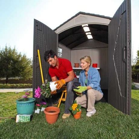 Lifetime Shed 60057 by Lifetime 7x4 5 Plastic Shed 60057