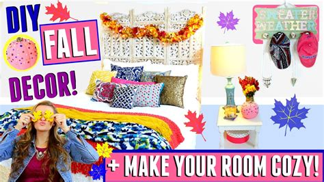 how to make your room cozy diy fall tumblr room decor for cheap easy tips on how