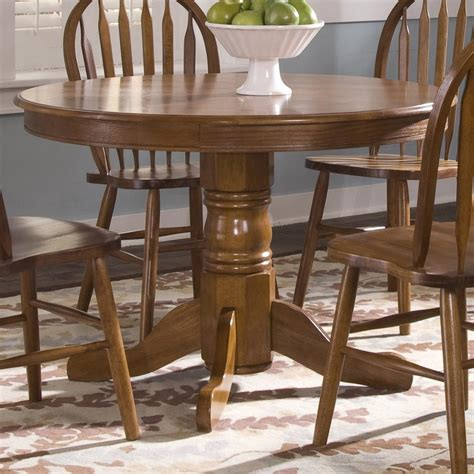 Liberty Dining Table Liberty Furniture Nostalgia Pedestal Dining Table H L Stephens Kitchen Table