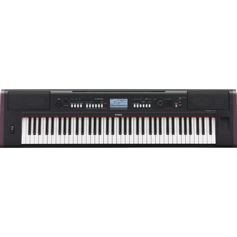 Keyboard Yamaha New yamaha piaggero npv80 portable keyboard black nearly new at gear4music
