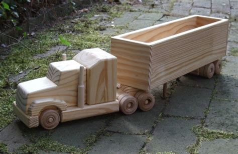 wooden truck build wooden toy truck quick woodworking projects