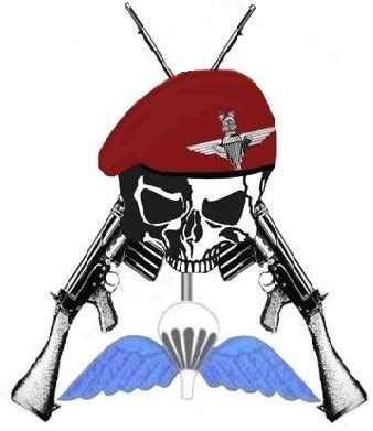 parachute regiment tattoo designs back all special forces back