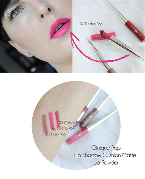 Clinique Cushion clinique pop lip shadow cushion matte lip powder