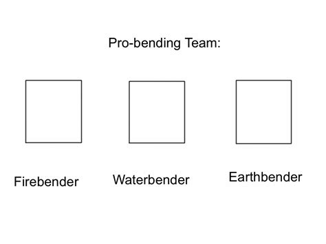 blank meme template pro bending team blank meme template by epic wrecker on