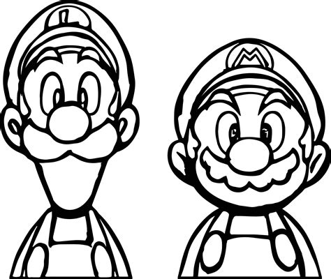 super mario coloring page 01 face to with mario coloring