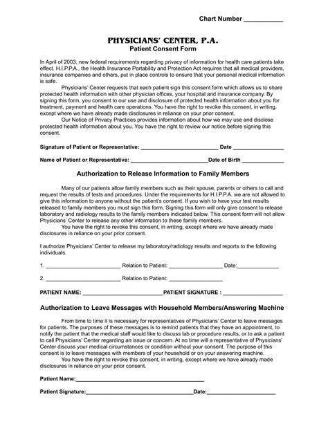 informed consent template best photos of informed consent form
