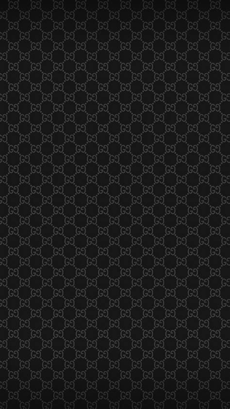 black gucci pattern gucci pattern iphone wallpaper hd