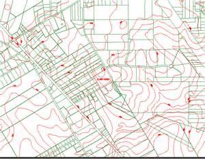 elevation contours usgs elevation contours withparcel map
