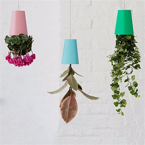 small hanging plants pink blue white black 4colors decorative small hanging