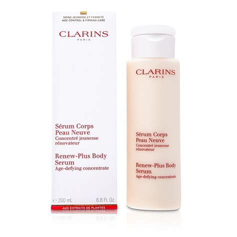 Clarins Renew Plus Serum by Renew Plus Serum Clarins F C Co Usa
