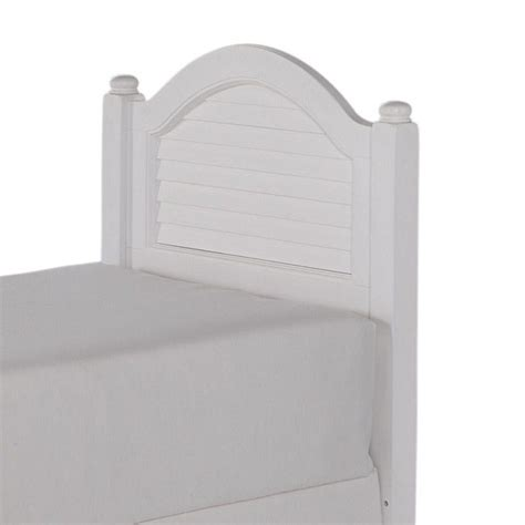 white wood twin headboard wood shutter twin headboard in white 5543 401