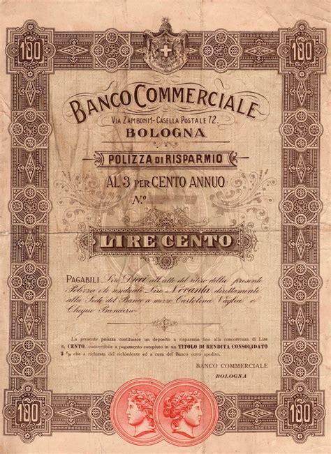 banco di bologna banco commerciale bologna scripomuseum