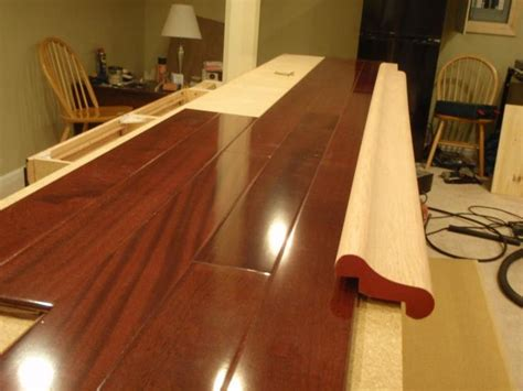 Wood Bar Top Ideas by Laminate Floor Bar Top Bar Ideas