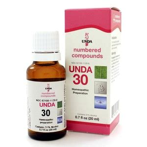 Unda Homeopathic Detox by Unda 30 20ml By Seroyal Unda